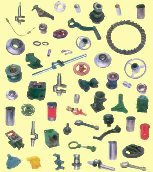 Agricultural Spare Parts Supplier from India