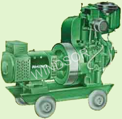 Genset Water Cooled Single Cylinder 1500 RPM 50 hz Supplier from India